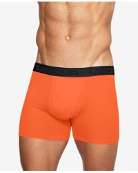 "Under Armour - Threadborne Microthread 6"" Underwear - Lyst"