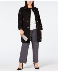 Alfani - Plus Size Embellished A-line Jacket, Created For Macy's - Lyst