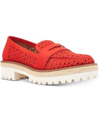 Nine West - Gradskool Loafer Flats - Lyst