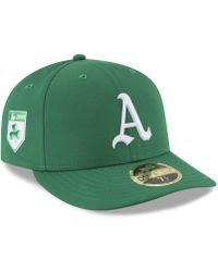 KTZ - Oakland Athletics St. Patty's Day Pro Light Low Crown 59fifty Fitted Cap - Lyst