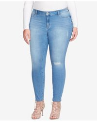 Jessica Simpson - Trendy Plus Size Ripped Jeans - Lyst