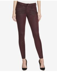 William Rast | Faux-suede Skinny Pants | Lyst