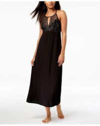 INC International Concepts - I.n.c. Lace Keyhole Nightgown, Created For Macy's - Lyst
