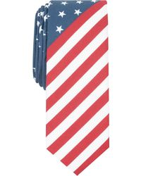 Original Penguin - Austin Stars & Stripes Skinny Tie - Lyst
