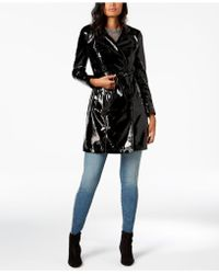 INC International Concepts - I.n.c. Petite Patent Solid Trench, Created For Macy's - Lyst