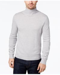 Daniel Hechter Men's Merino Wool Turtleneck Sweater