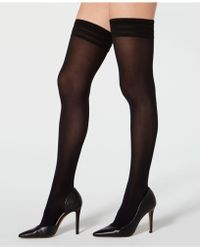 d94f4fbc2 Wolford - Velvet De Luxe 50 Stay-up Thigh-high Hosiery - Lyst