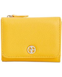 Giani Bernini - Softy Leather Trifold Wallet, Created For Macy's - Lyst