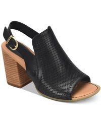 Born - Sutra Dress Sandals - Lyst