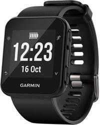 Garmin   Unisex Forerunner 35 Black Silicone Strap Gps Running Smart Watch 24mm 010-01689-00   Lyst