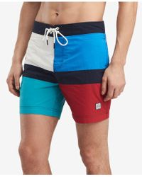 Tommy Hilfiger - Maison Colorblocked 6.5'' Board Shorts, Created For Macy's - Lyst