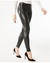 INC International Concepts - Faux-leather Skinny Pants - Lyst