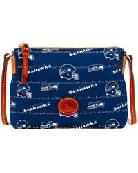 Dooney & Bourke - Seattle Seahawks Nylon Crossbody Pouchette - Lyst