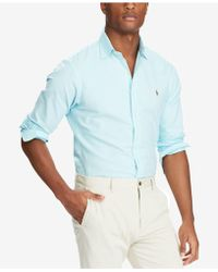 Polo Ralph Lauren - Slim-fit Stretch-oxford Shirt - Lyst