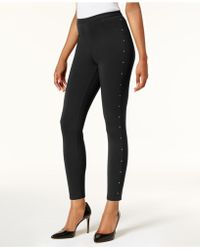 Style & Co. - Embellished Leggings - Lyst