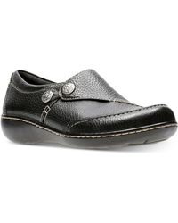 Clarks Leather Collection Women's Ashland Hustle Flats in