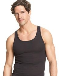 8d0a567462851 Lyst - Polo Ralph Lauren Supreme Comfort Tank 2 Pack in Gray for Men