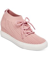 Steven by Steve Madden | Carin Wedge Trainers | Lyst