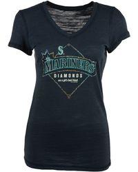 Soft As A Grape - Women's Seattle Mariners Diamonds Best Friend T-shirt - Lyst