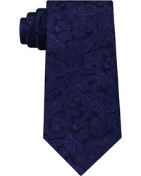 Michael Kors - Men's Dress Code Paisley Silk Tie - Lyst