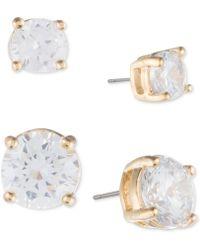 Ivanka Trump - 2-pc. Set Crystal Stud Earrings - Lyst