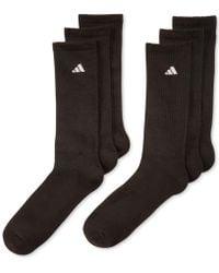 adidas - Men's Athletic Performance Crew Socks 6-pack - Lyst