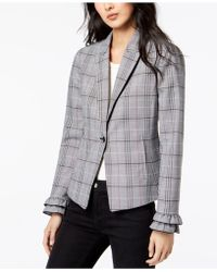 Maison Jules - Menswear Plaid Fitted One-button Jacket, Created For Macy's - Lyst