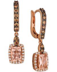 Le Vian - ® Morganite (1-1/3 Ct. T.w.) & Diamond (3/4 Ct. T.w.) In 14k Rose Gold - Lyst