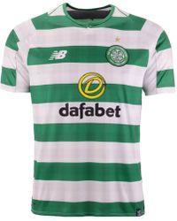 cae55230416 New Balance Celtic Fc 2018/19 Away Shirt Pre Order in White for Men - Lyst