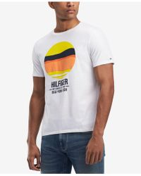Tommy Hilfiger - Graphic-print T-shirt, Created For Macy's - Lyst