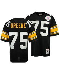 033c4ce2 Mitchell & Ness - Joe Greene Pittsburgh Steelers Authentic Football Jersey  - Lyst