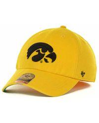 buy popular 9e0b7 bf01c Nike Iowa State Cyclones L91 Swoosh Flex Stretch-Fit Cap in Red for Men -  Lyst