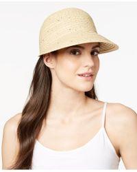 August Accessories - Summer Glow Framer Hat - Lyst