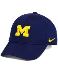 f4225074 reduced michigan wolverines nike ncaa vapor sideline coaches cap ...