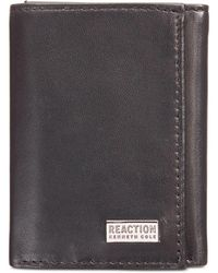 Kenneth Cole Reaction - Nappa Leather Extra-capacity Tri-fold Wallet - Lyst