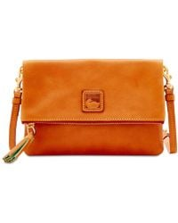 Dooney & Bourke - Foldover Zip Small Crossbody - Lyst