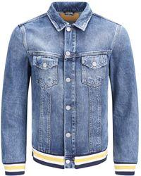 ff5dcc18 Wrangler Men's Western Jean Jacket in Blue for Men - Lyst