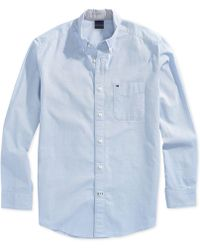 e7095ff8987d Tommy Hilfiger - Capote Shirt With Magnetic Buttons - Lyst