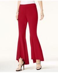 INC International Concepts - Petite Tulip-hem Flare Pants - Lyst