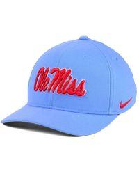 05872dead91 Lyst - Nike Heritage 86 Swoosh Cap in Black