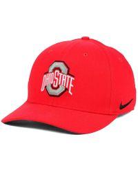 397ae8c727fdf8 Nike Ohio State Buckeyes Col Cap in White for Men - Lyst