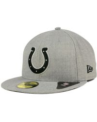 pretty nice 2d7e4 a7c68 KTZ Indianapolis Colts Original Fit 9fifty Snapback Cap in Red for Men -  Lyst