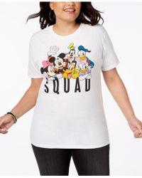 Disney - Plus Size Cotton Squad Graphic T-shirt - Lyst