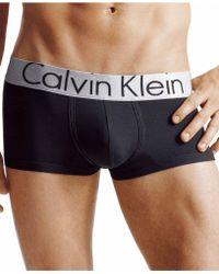 CALVIN KLEIN 205W39NYC - Underwear, Steel Micro Low Rise Trunk U2716 - Lyst