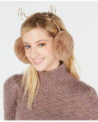 Charter Club Rhinestone Reindeer Earmuffs, Created For Macy's