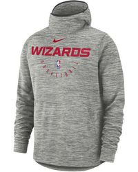 Wholesale Lyst Nike Washington Redskins Crucial Catch Therma Hoodie in Gray