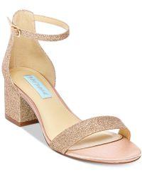 Betsey Johnson - Miri Evening Sandals - Lyst