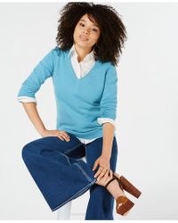 Charter Club - Pure Cashmere V-neck Sweater, In Regular & Petite Sizes, Created For Macy's - Lyst