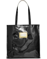 Macy's - Large Patent Plaque Tote, Created For - Lyst
