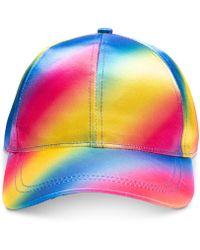 04e97c59 INC International Concepts - I.n.c. Tie Dye Rainbow Baseball Cap, Created  For Macy's - Lyst